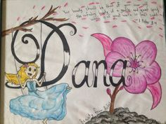 Dana!!! :D (@derickson78) #nameproject #identityframes
