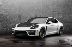 Awesome Porsche: Porsche Panamera Stingray GTR gen.2 TopCar...  Cars and Motorcycles of the World.
