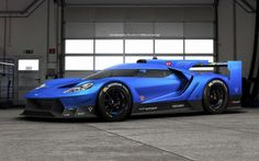 Fan Rendering Of A Ford GT Le Mans Car Is GLORIOUS