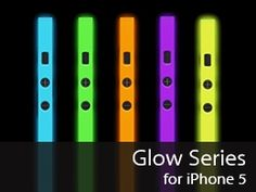 *Glow in the Dark iPhone 5 cases