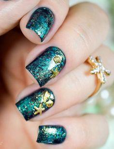 sea nail art-7