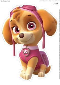 Looking to Meet Your Favorite Paw Patrol Characters? 7 Names to Know: Skye from Paw Patrol Skye Paw Patrol Cake, Sky Paw Patrol, Paw Patrol Party, Personajes Paw Patrol, Imprimibles Paw Patrol, Paw Patrol Birthday Theme, Cumple Paw Patrol, Paw Patrol Coloring, Kids Tv