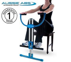 Aussie Abs Abdominal Exerciser With Workout DVDHereforaday.com!