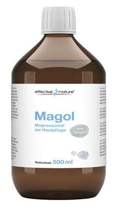 Magnesiumchlorid oder englisches Salz zur Gewichtsreduktion