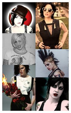 Brody Dalle of The Distillers and Spinnerette