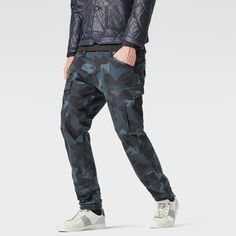 The Rovic pant is the foundation style for the RAW Cargo line.