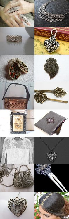 Filigree Valentine by 3buu on Etsy--Pinned with TreasuryPin.com
