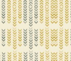 Mellow arrows fabric by mollycoddle on Spoonflower - custom fabric