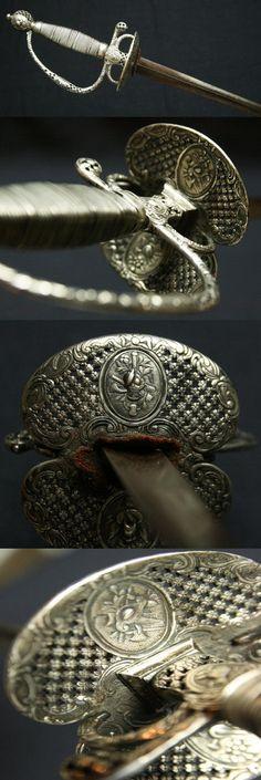 An elegant French sword, 18th century Paris,ca. 1760…