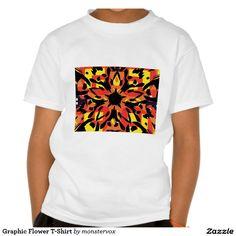 Graphic Flower T-Shirt #Graphic #Flower #Shirt #Tshirt #Tee #SweatShirt #Fashion