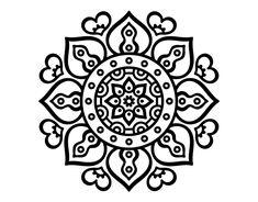 Mandala arabic hearts coloring page Heart Coloring Pages, Pattern Coloring Pages, Mandala Coloring Pages, Mandala Drawing, Mandala Art, Paint Designs, Henna Designs, Arte Sharpie, Mandela Patterns