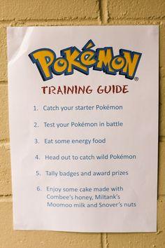 Pokemon party ideas