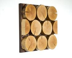 Reclaimed Wood Art - Tree Wall Art - Abstract - Modern Decor - Reclaimed Wood Sculpture - Wall Hanging - Wood Log Art - Rustic Home Decor Reclaimed Wood Wall Art, Wooden Art, Large Candle Holders, Wood Logs, Tree Wall Art, Wood Sculpture, Decoration, Iphone, Modern Decor