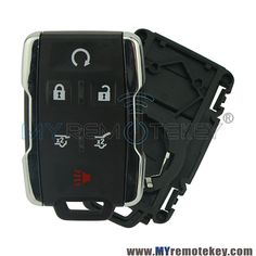 6 Buttons 315Mhz Keyless Entry Car Fob Remote Key For CHEVROLET TAHOE REMOTE M3N-32337100 Auto Parts