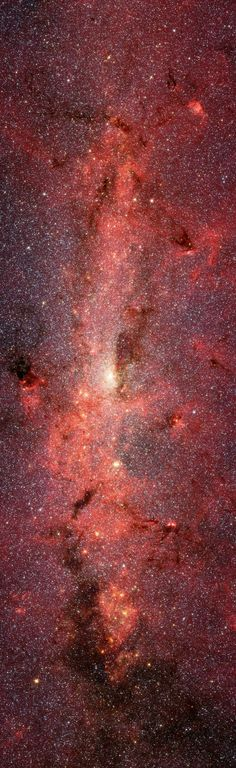 Spitzer Captures Our Galaxy's Bustling Center NASA