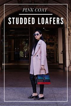 pink-coat-studded-loafters-mikialamodetravels