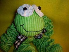 (9) Name: 'Sewing : YoYo Froggy Doll