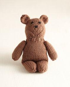 Free Knitting Pattern: Best Friend Bear