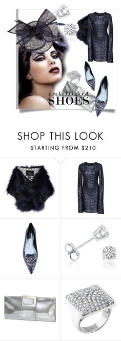 """""""Magic Slippers: Embellished Shoes"""" by kari-c ❤ liked on Polyvore featuring Unreal Fur, Cynthia Rowley, Dolce&Gabbana, Amanda Rose Collection, Roger Vivier, Cartier, Giovannio and embellishedshoes"""