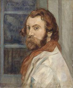 Emile Bernard:  Self Portrait, 1901