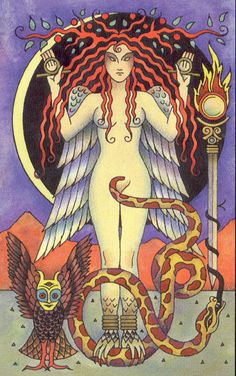 The Serpent was central to Goddess worship. The Serpent in the Tree was thought by early Jewish writers to have been a Winged Serpent. The Winged Serpent, or Dragon is first a symbol of the Goddess and of a nature-based Pagan spirituality