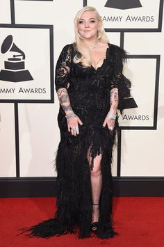 Pin for Later: Seht alle Outfits der Stars bei den Grammy Awards Elle King
