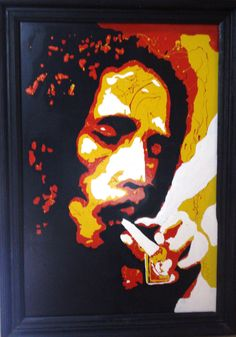 Bob Marley, Reggae, Illustrator, Stencils, Club, Painting, Art, Frames, Projects