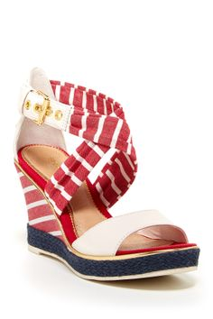 Sperry Top-Sider Aurora Wedge Sandal. I love this fun casual sandal!