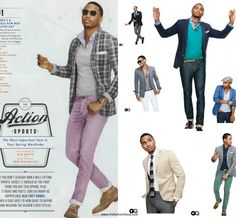Trey Songz - GQ Magazine March 2012 Issue. Love his style! #mens #fashion