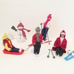 With ski season fast approaching the Lundby family decided to breakout the ski gear for some fun in the snow! (image: @littlefishcreationsaus) https://lundby.com.au/