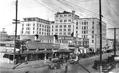 1920's Mineral Wells, Texas Old Pictures, Old Photos, Mineral Wells Tx, University Of North Texas, Texas History, Travel Memories, Old Buildings, Historical Sites, Abandoned Places
