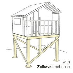 Plans For Playhouse On Stilts Build A Special Place For