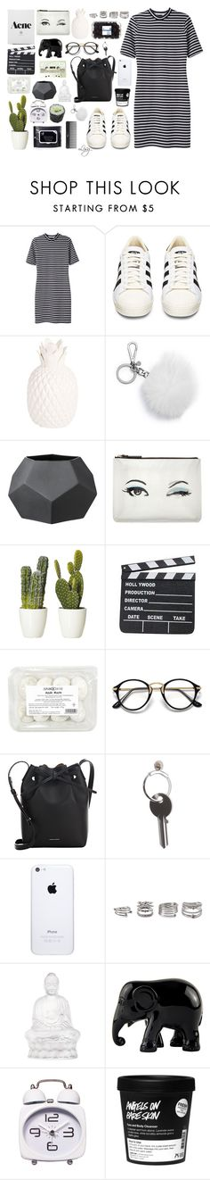 """""""//summertime//"""" by lisajackson ❤ liked on Polyvore featuring T By Alexander Wang, adidas, Zara Home, Michael Kors, Bloomingville, Kate Spade, Sephora Collection, Mansur Gavriel, Maison Margiela and Forever 21"""