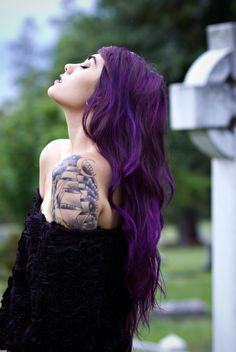 that purple though! x #tattoo #ink #inked
