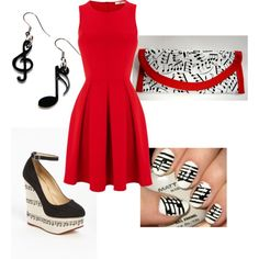 """""""Music Note Obsession"""" by lizzie-boyette on Polyvore"""