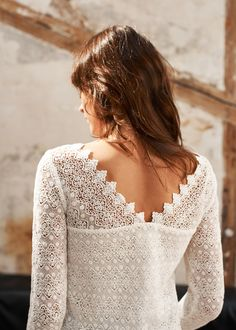Sézane - Andrew Blouse-I know just the lace to use!