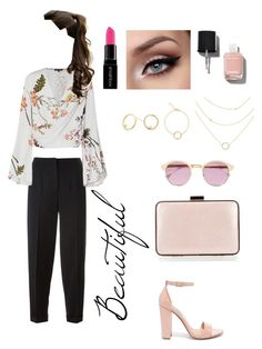 """""""Sin título #109"""" by pgha on Polyvore featuring moda, Alexander McQueen, Steve Madden, Coccinelle, Sheriff&Cherry, Smashbox y Chanel"""