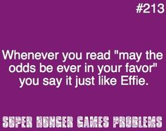 Yes and think of the moment in mocking jay when katniss throws the berry into gales mouth and they say it together (the book)