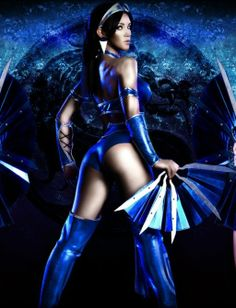 kitana from mortal kombat | Cosplay da Kitana do Mortal Kombat by mikeymaxi | Level+ (20524)