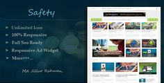 Download Free              Safety - Responsive MultiPurpose Blogger Template            #               blog #blogger #clean #elegant #flexible #gallery #magazine #modern #multi #news #newspaper #photography #portfolio #seo