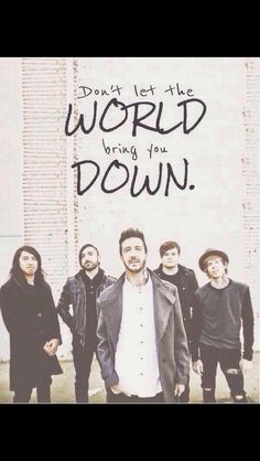 You're not alone - Of Mice & Men. This song is so inspiring & one of my absolute favourite songs!