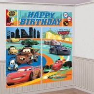 This Cars Scene Setter Wall Decorating Kit is just what you need for your party decorations at your son's birthday! Disney Birthday, Sons Birthday, Birthday Party Themes, Birthday Decorations, Birthday Ideas, Disney Cars Party, Scene Setters, Wholesale Party Supplies, Fun Express