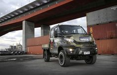 Iveco adds comfort to benchmark off-road performance with new Daily Iveco 4x4, Iveco Daily 4x4, Heavy Duty Trucks, Building Companies, Expedition Vehicle, European Countries, Land Rover Defender, Eastern Europe, Offroad