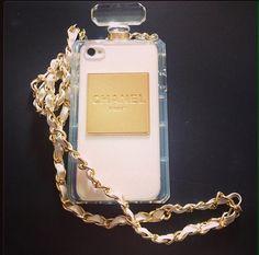 Chanel perfume case  Iphone case