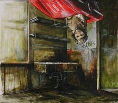 "Saatchi Art Artist Stefan Doru Moscu; Painting, ""Playground"" #art"