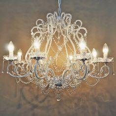 Chandelier 4 light french provincial vienna ivory deene chandelier large 8 light french style layla jane aloadofball Gallery