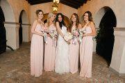 blush bridesmaid dresses?