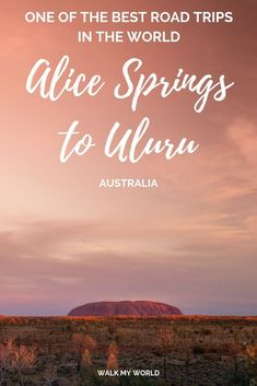 australia travel - Alice Springs to Uluru (Ayers Rock) An epic Australian outback itinerary Perth, Brisbane, Melbourne, Sydney, Outback Australia, Visit Australia, South Australia, Western Australia, Great Barrier Reef