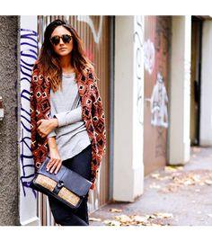 Sorayabakhtiar is wearing: Isabel Marant shirt, Illesteva sunglasses, Rebecca Minkoff bag.
