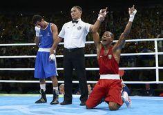 Ouro inédito! Robson Conceição bate francês e leva título histórico no boxe #globoesporte